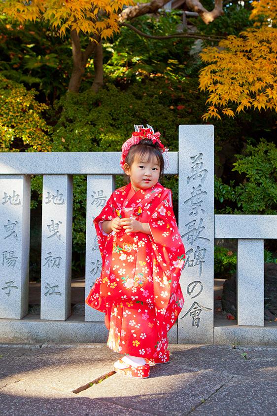 神奈川県横浜市の伊勢山皇大神宮に出張撮影した七五三写真