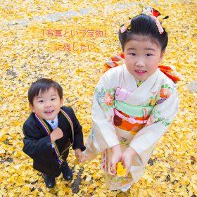 東京根津神社に出張撮影した七五三写真