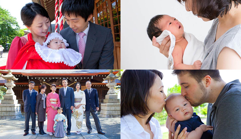 横浜に出張撮影した家族写真
