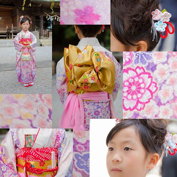 師岡熊野神社に出張撮影した七五三記念の女の子